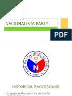 Nacionalista 3rd Version