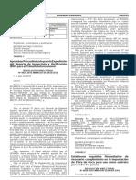RESOLUCIÓN DIRECTORAL N° 0026-2016-MINAGRI-SENASA-DSV