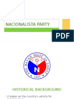 Nacionalista 2nd Version