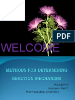Determination of Reaction Mechanisms