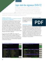Analyse en Temps Réel de Signaux DVB-T2