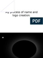My Process of Name Creation