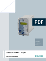 7SR11 and 7SR12 Argus Catalogue Sheet