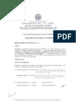 Resolucion No. 123-2010-JEA ¡Nuevas LLog.'. habilitadas para votar!