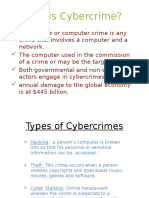 Presentation on Cybercime