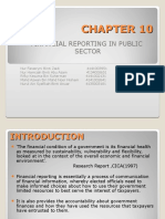 Chapter 10-Financial Reporting in Public Sector