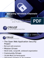 Securing Wireless Channels in the Mobile Space
