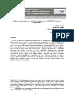 História Do Pensamentro Econômico 1964-1989