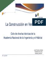 La Construccion en Venezuela