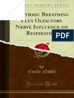 Rhythmic Breathing Plus Olfactory Nerve Influence on Respiration 1000045824