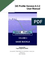 SAGE Profile V6.3.2 User Manual - Volume 4