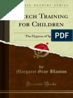 Speech Training for Children 1000017845