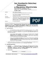 Informe Nº 001 - Viru - revision de expediente tecnico
