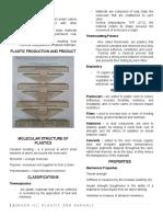 Handouts on Plastic and Asphalt