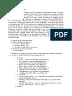 Written Report Nacionalista Party