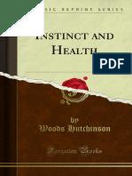 Instinct and Health 1000035143