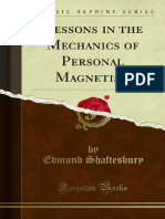 Lessons in the Mechanics of Personal Magnetism Arranged Either for 1000142167
