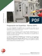 Preparacion de Superficies Norma SSPC Granallado Cymmateriales Shotblasting