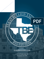 Gold, Silver and Platinum Bullion Dealers In Texas