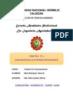 prct.N° 05 antioxidate de la mashua