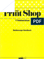 PrintShop Manual Deutsch