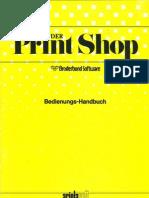 PrintShop Manual Deutsch