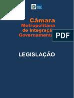 Legislação Câmara Metropolitana