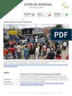 Boletín de noticias KLR 13 de julio de 2016