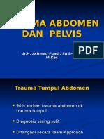 Trauma Abdomen Dan Pelvis, Kuliah (1)