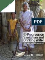 Progress on Sanitation and Drinking Water