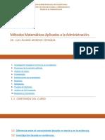 Metodologia de la Administracion