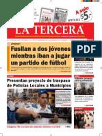 Diario La Tercera 13.07.2016