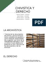 Archivistica y Derecho