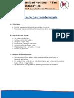 Práctica de Gastroenterología
