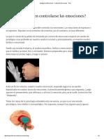 Inteligencia Emocional - Control de Emociones - PNL