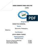 Tarea 1 Didactica General