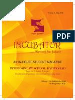 Symbiosis Newsletter Incubator Pbp 5132016 1