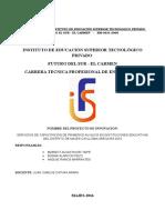 Proyecto Juan Catura