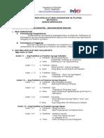 Budget of Work in Filipino 8