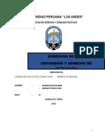 Monografia Anticresis y Derecho de Retencion