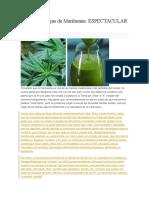 El Zumo de Hojas de Marihuana