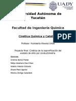 Saponificación Del Acetato de Etilo Por Conductimetría FINAL Corregido