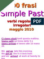Simple Past Frasi Da Tradurre 2010