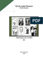 Sá de João Pessoa - Antologia de Cordel 2