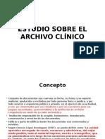 Estudio Sobre El Archivo Clínico