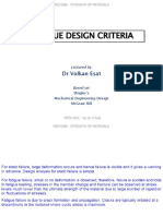 MECH206 - 2015-16 SUMMER - L15 - Fatigue Design Criteria