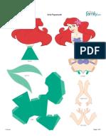 Caixa Das Princesas - Ariel