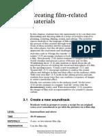 Creating filmrelated materials