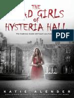 Dead Girls of Hysteria Hall Excerpt