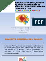 PDF. Paloma Orobal Císcar. Taller PEP-3 2014